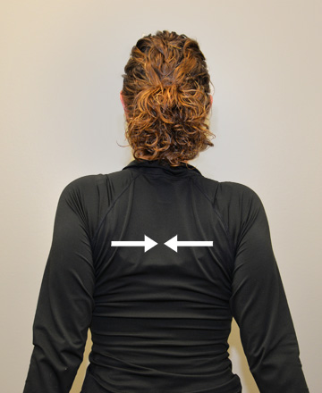 Photo Shoulder Scapular Squeeze